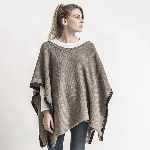 Spud & Chloe by Blue Sky Fibers Big Splash Poncho Kit - S-M (01)