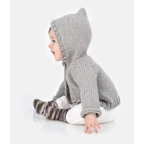 Spud & Chloe by Blue Sky Fibers Honeybear Hoodie PDF -  ()