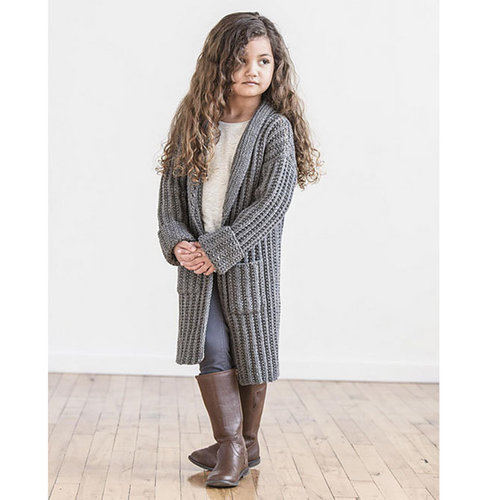 Spud & Chloe by Blue Sky Fibers Just Right Jacket PDF -  ()