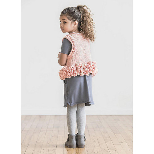 Spud & Chloe by Blue Sky Fibers Lucky Loop Vest PDF -  ()