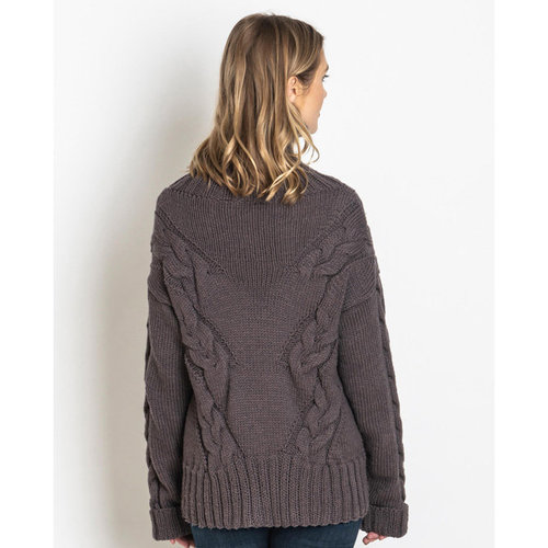Spud & Chloe by Blue Sky Fibers Solway Sweater PDF -  ()