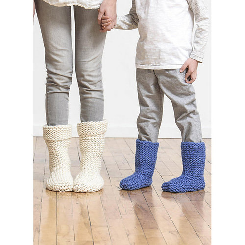Spud & Chloe by Blue Sky Fibers Sunday Morning Slippers PDF -  ()