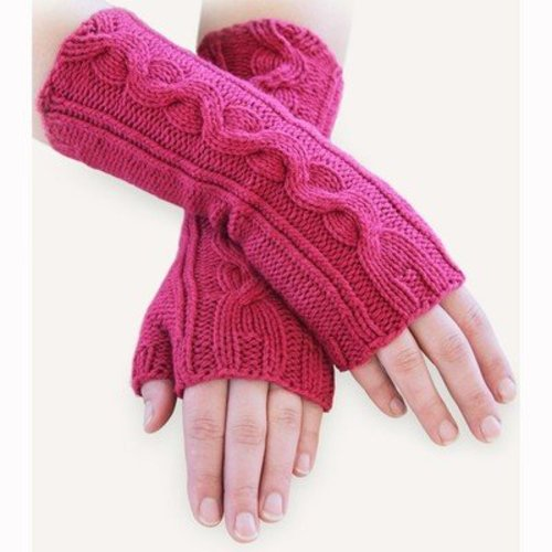 Spud & Chloe by Blue Sky Fibers Venus Mitts PDF -  ()