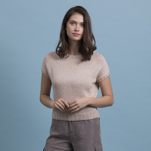 Stacy Charles Fine Yarns Audrey Tee PDF -  ()