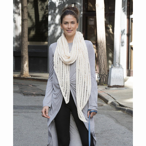 Stacy Charles Fine Yarns Bank Street Mesh Scarf PDF -  ()