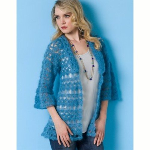 Stacy Charles Fine Yarns Blue Moon Jacket PDF -  ()