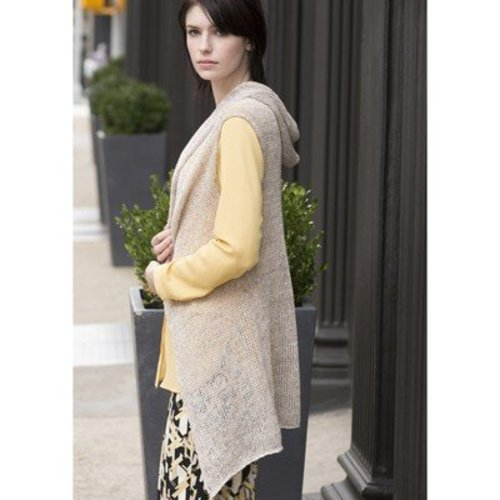 Stacy Charles Fine Yarns Bowery Hooded Vest PDF -  ()
