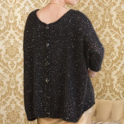 Stacy Charles Fine Yarns Chantal Poncho Top PDF -  ()