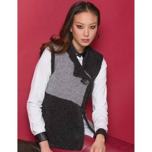 Stacy Charles Fine Yarns Chrissy One-Button Vest PDF -  ()