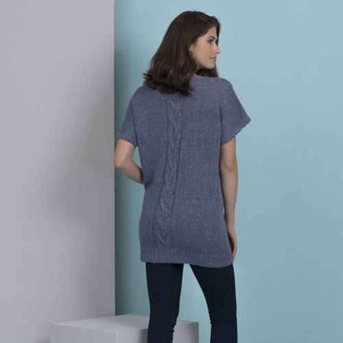 Stacy Charles Fine Yarns Claire V-Neck Tunic PDF -  ()