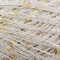 Stacy Charles Fine Yarns Crystal - Silver With Gold Sequins (01)