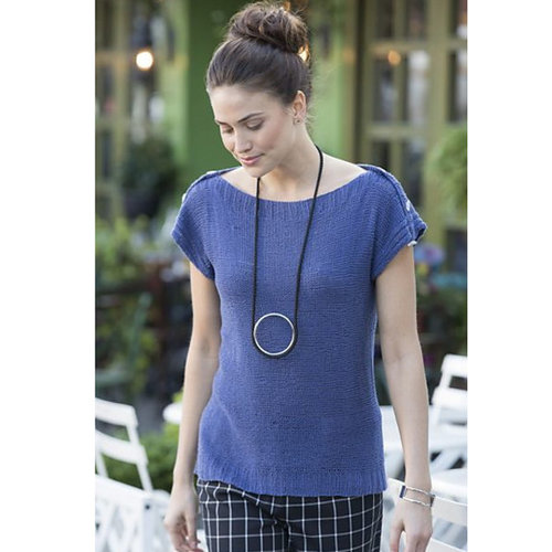 Stacy Charles Fine Yarns Downing Top PDF -  ()