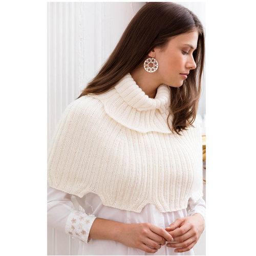 Stacy Charles Fine Yarns El Dorado Ribbed Capelet and Empire Ribbed Cowl PDF -  ()