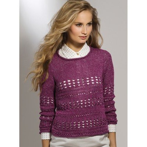 Stacy Charles Fine Yarns Ethel Pullover PDF -  ()