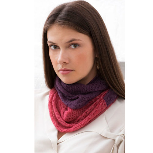 Stacy Charles Fine Yarns Excelsior Colorblock Cowl PDF -  ()