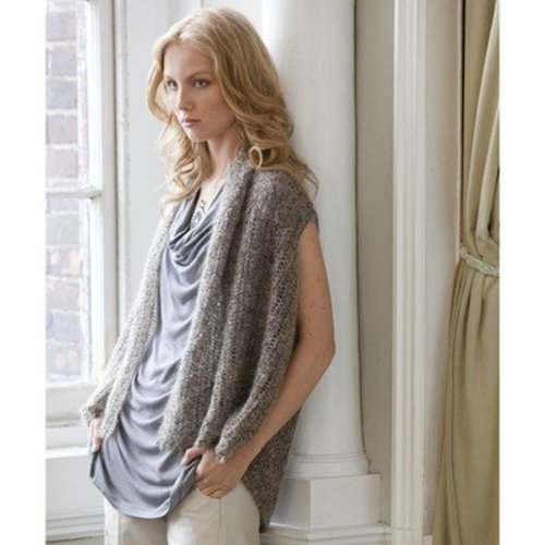 Stacy Charles Fine Yarns Faye 2-Way Vest PDF -  ()