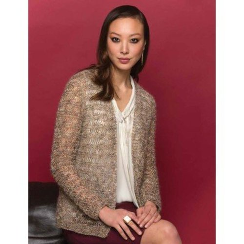 Stacy Charles Fine Yarns Gisele Jacket PDF -  ()