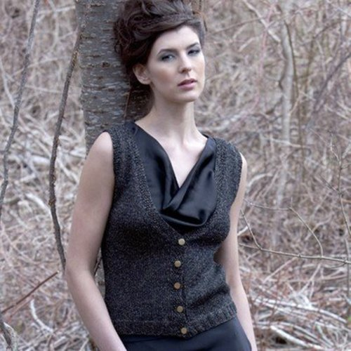 Stacy Charles Fine Yarns Josephine Vest (Free) -  ()