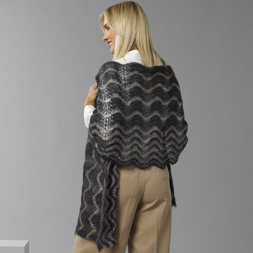 Stacy Charles Fine Yarns Lily Shawl PDF -  ()