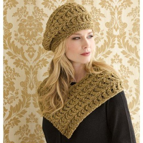 Stacy Charles Fine Yarns Madeleine Cowl and Beret PDF -  ()