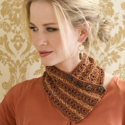 Stacy Charles Fine Yarns Margaux Striped Collar PDF -  ()