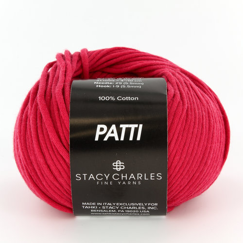 Stacy Charles Fine Yarns Patti Discontinued Colors - Ruby (010)
