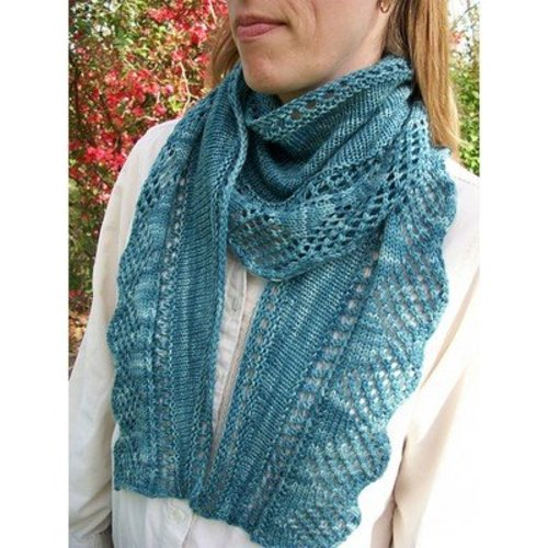 Steppingstone Fiber Creations Marrowstone Shawl PDF -  ()
