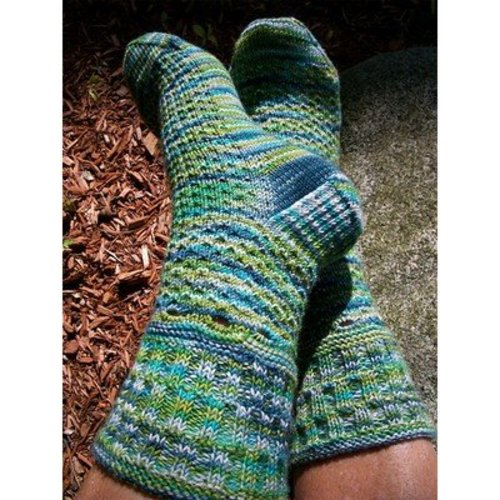 Steppingstone Fiber Creations Northampton Beat Socks PDF -  ()