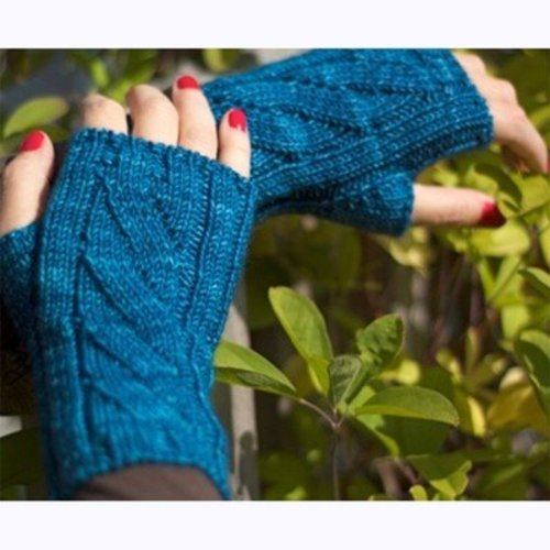 Stick Chick Knits Oceanie Combo - Hat & Mitts PDF -  ()