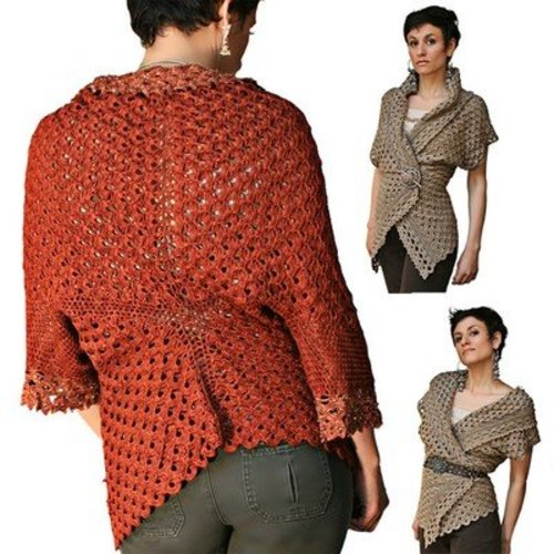 Stitch Diva 56 Endless Crochet Cardi Shawl -  ()