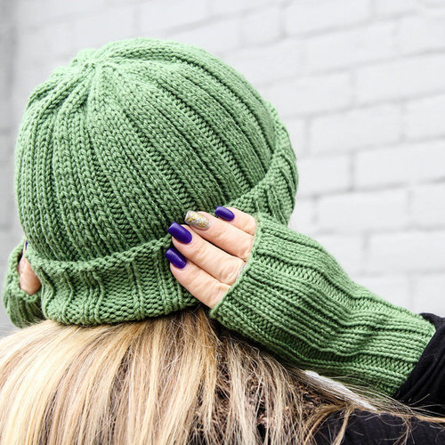StringPlay Ridges Hat & Mitts PDF -  ()