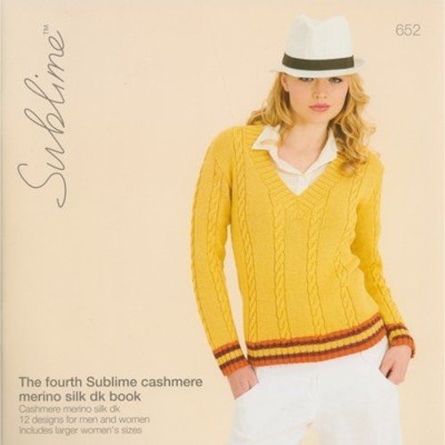 Sublime 652 The Fourth Sublime Cashmere Merino Silk DK Book -  ()