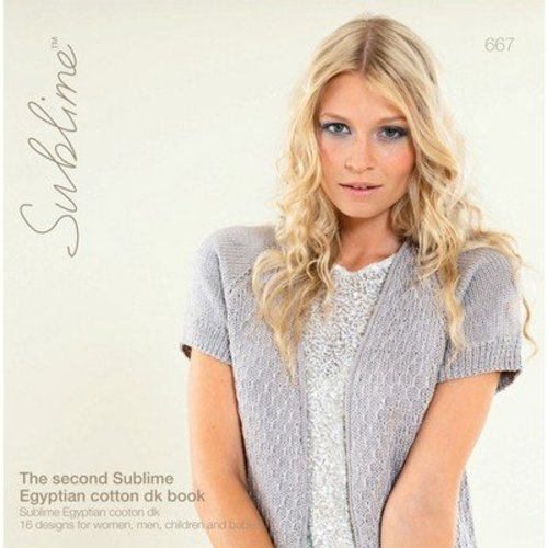 Sublime 667 The Second Sublime Egyptian Cotton DK Book -  ()