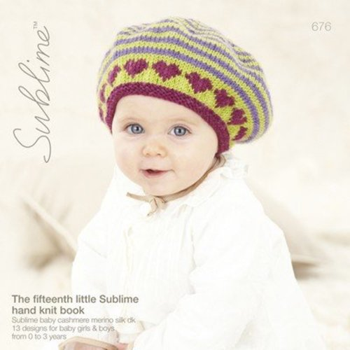 Sublime 676 The Fifteenth Little Sublime Hand Knit Book -  ()