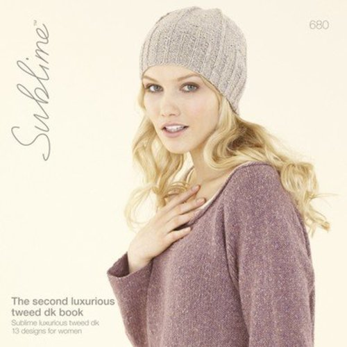 Sublime 680 The Second Luxurious Tweed DK Book -  ()