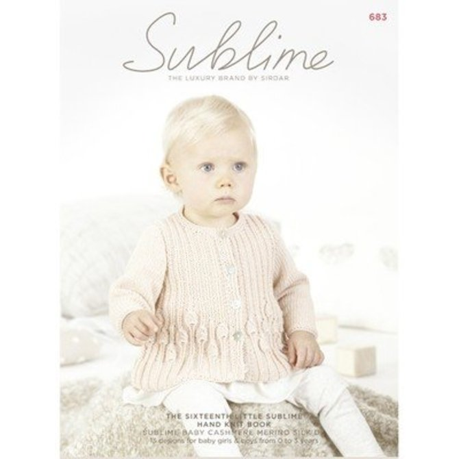 Sublime 683 The Sixteenth Little Sublime Hand Knit Book At Webs