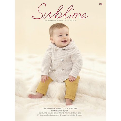 Sublime 713 The Twenty First Little Sublime Hand Knit Book -  ()