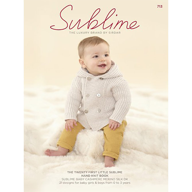 Sublime 713 The Twenty First Little Sublime Hand Knit Book At Webs