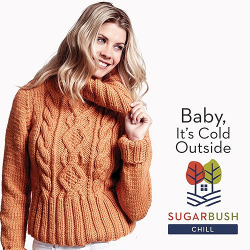 Sugar Bush Yarns Baby, It's Cold Outside - Printed (658003)
