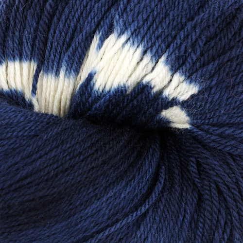 Swans Island Ikat Collection Firefly - Sapphire (201)