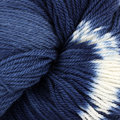 Swans Island Ikat Collection Firefly - Prussian Blue (202)