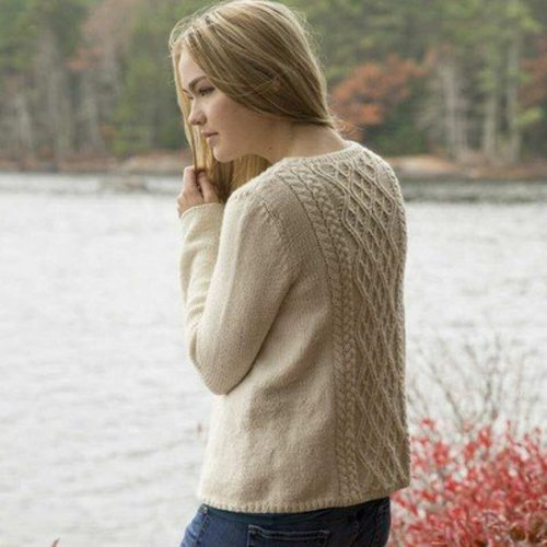 Swans Island Weekend Pullover PDF -  ()