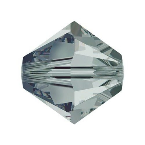 Swarovski CREATE YOUR STYLE Crystals - 4mm - Black Diamond Selection - 100 Pcs. (4MMBLACK)