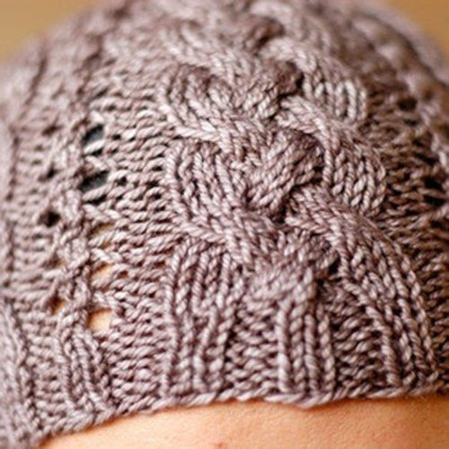 SweetGeorgia Creekside Cables Hat PDF - Download (CREEKSIDEC)