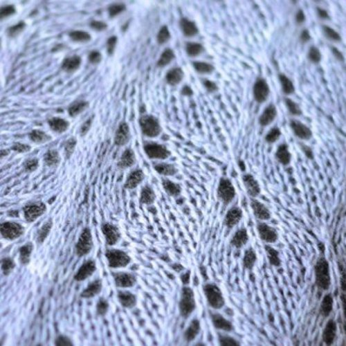 SweetGeorgia Lilac Leaves Shawl PDF -  ()