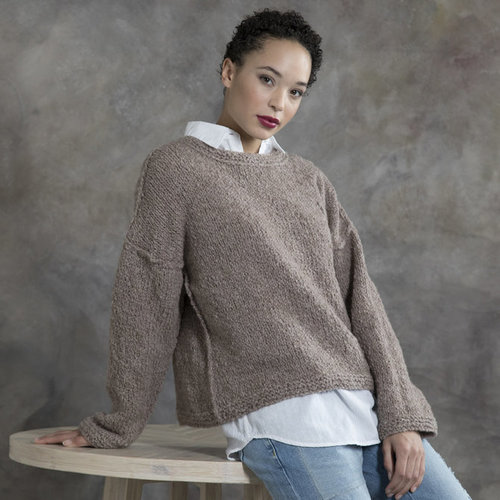 Tahki Yarns Acacia Reversible Pullover Kit -  ()