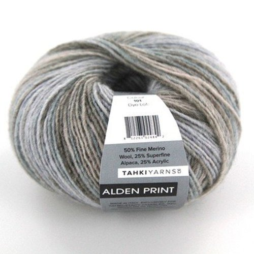 Tahki Yarns Alden Print - Morning Mist (101)