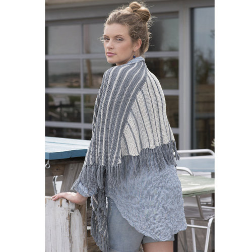 Tahki Yarns Atlantic City Shawl PDF -  ()
