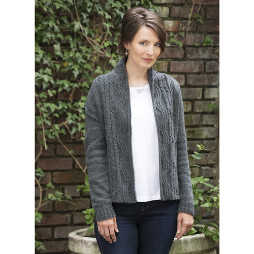 Tahki Yarns Bowrider Cable Rib Jacket PDF -  ()