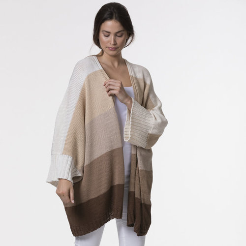 Tahki Yarns Canopy Striped Duster PDF -  ()